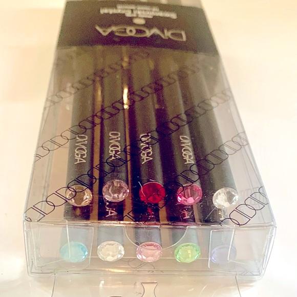 Divoga Pencils with Swarovski Crystals - 10pcs.